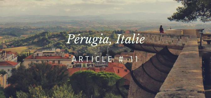 Perugia / capitale de l'Ombrie