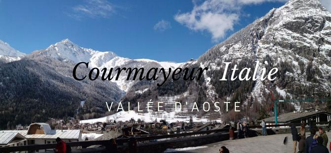 Courmayeur / La beauté du Mont-Blanc