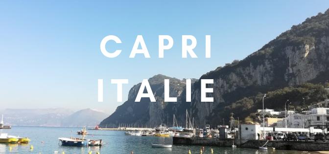 La dolce vita: 12h sur l'île de Capri