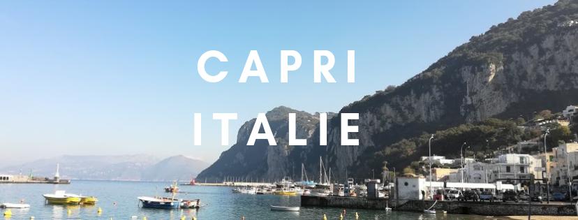 La dolce vita: 12h sur l'île deCapri